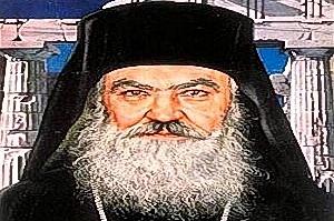 Arcivescovo Damasceno di Atene (Damaskinos Papandreou).